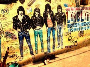 band punk barat ramones