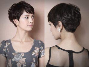 gaya rambut pendek pixie cut