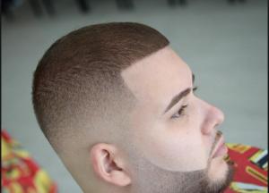 gaya rambut pria buzz cut