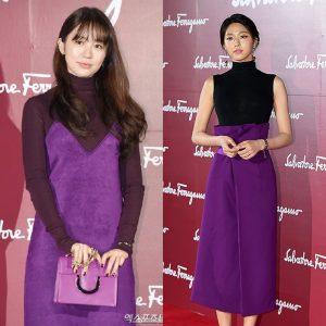trend fashion show violet Korea