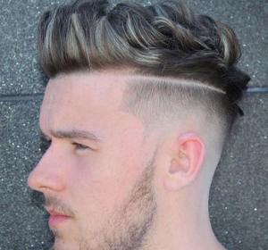 gaya rambut pendek quiff