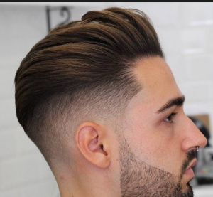 gaya rambut undercut pompadour