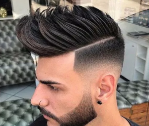 gaya rambut pria spike