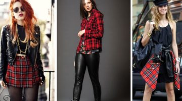 6 Cara Stylish Fashion Plaid Street Pattern Gaya Artis Terpopuler