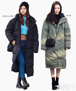 Fashion musim dingin korea