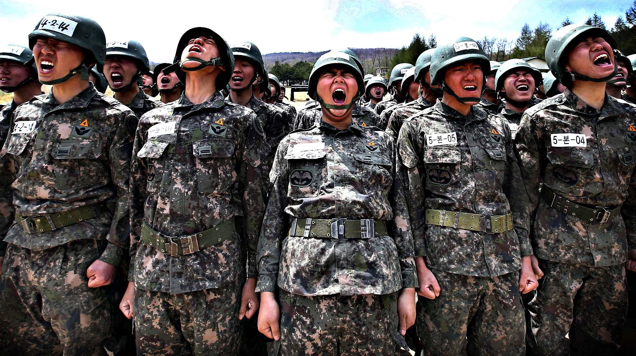 Wajib militer korea