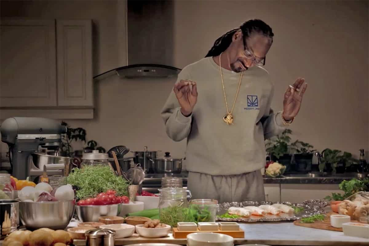 Rapper Snoop Dogg