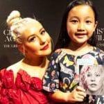 Penyanyi Cilik Keturunan Indonesia Berhasil Ajak Duet Christina Aguilera