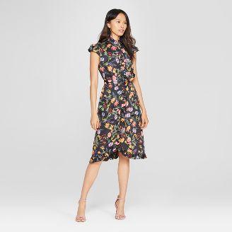 Dress batik yang angun.