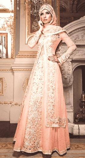 Model kebaya muslim unik glamour
