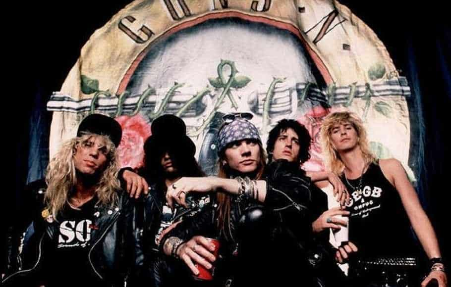 Foto Band Rock Guns N Roses
