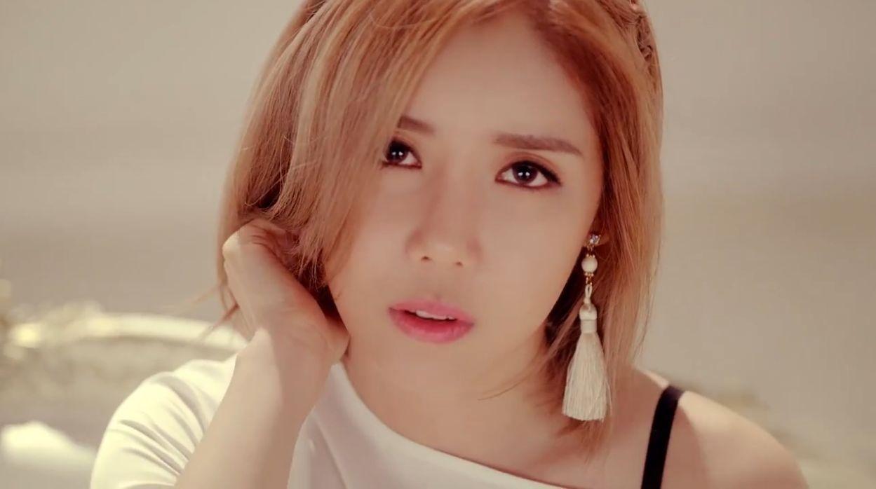 Potret Hana salah satu personel Girlband K-pop Secret