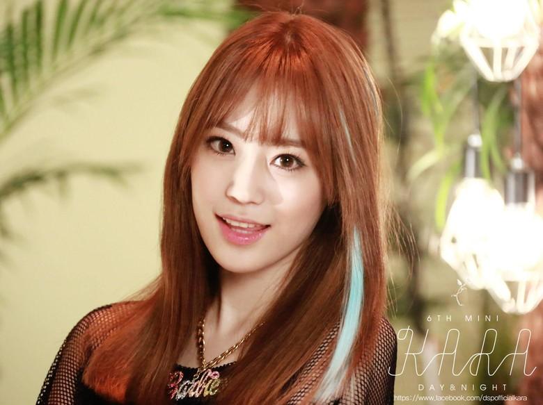 Foto Youngji dari Girlband Kara