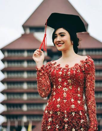 30 Jenis Dan Model Baju Kebaya Modern Untuk Wisuda Dans Media