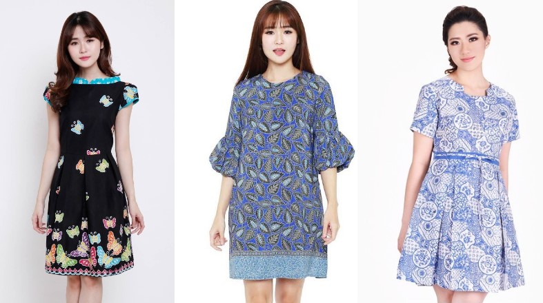 Referensi Dress Batik Modern Dan Unik 2019 Dans Media
