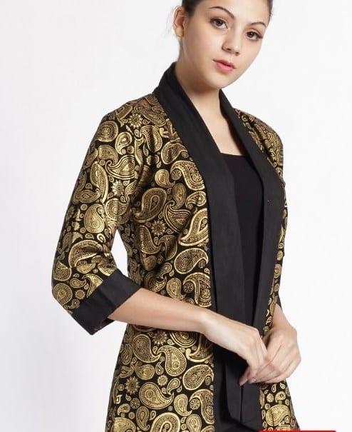 7 Inspirasi Model Baju Atasan Batik Untuk Wanita Dans Media