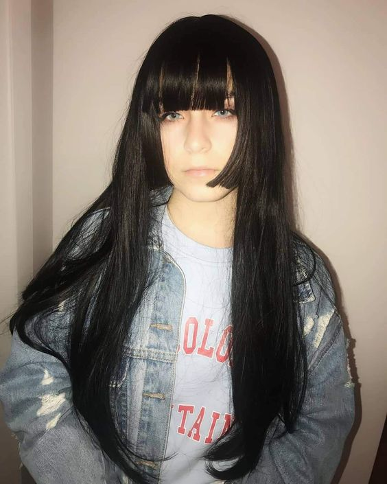 gaya rambut panjang harajuku wanita