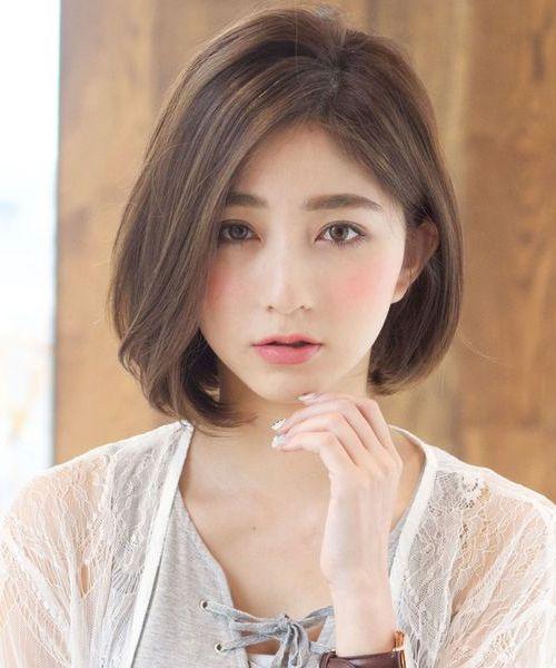 Gaya Rambut Bob Pendek Lucu 2019 Jepang dan Korea